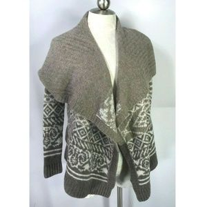 Abercrombie & Fitch S Cardigan Sweater Open Draped